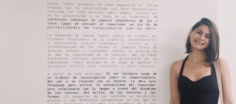 El ser etológico – Damián Suárez